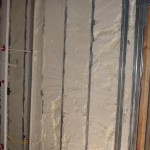 Spray Foam Applied to Metal Building