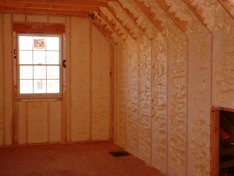 Finished Room Insulation