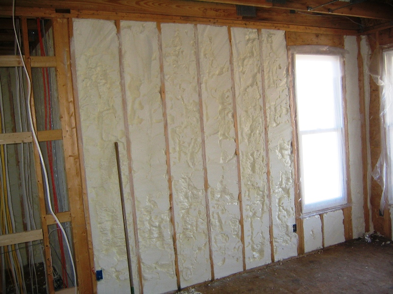 Finished Wall Insulation